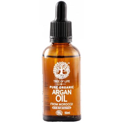 Tree of Life Organic Argan Oil 50ml