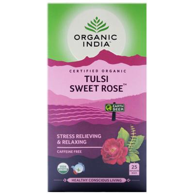 Tulsi Organic Sweet Rose Tea