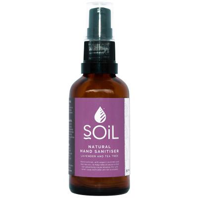 Soil Natural Hand Sanitiser - Lavender & Tea Tree