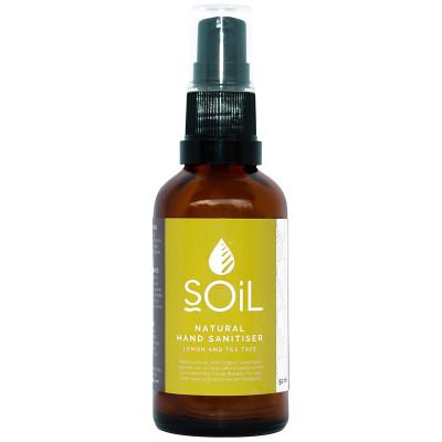 Soil Natural Hand Sanitiser - Lemon & Tea Tree