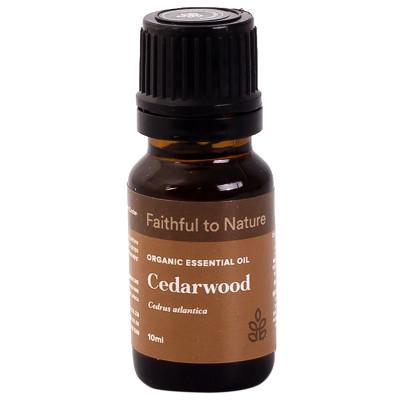 Faithful to Nature Organic Cedarwood Essential Oil