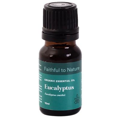 Faithful to Nature Organic Eucalyptus Essential Oil