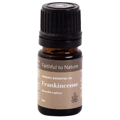 Faithful to Nature Organic Frankincense Essential Oil