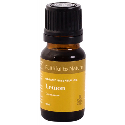 Faithful to Nature Organic Lemon Essential Oil