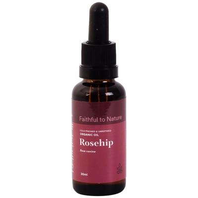 Faithful to Nature Organic Rosehip Oil
