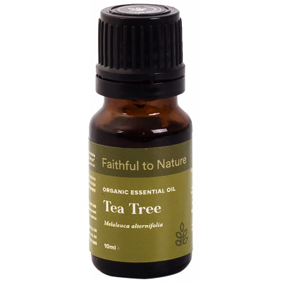 Faithful to Nature Organic Tea Tree Essential Oil