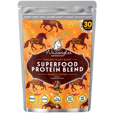 Wazoogles Kungfu Coffee Superfood Protein Shake