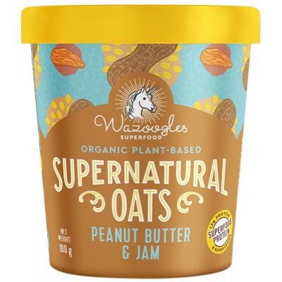 Wazoogles Supernatural Oats Pot - Peanut Butter Coconut Cup