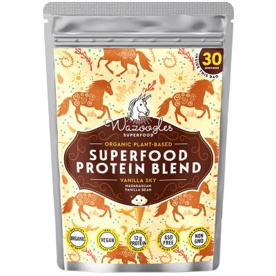 Wazoogles Vanilla Sky Superfood Protein Shake