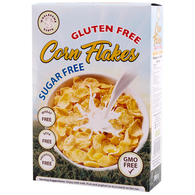 Wholesome Earth Gluten Free Corn Flakes (Sugar Free)