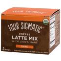 Four Sigmatic Mushroom Coffee Latte With Lion's Mane