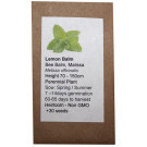 6 Degrees East Heirloom Herb Seeds - Lemon Balm - Melissa