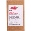 6 Degrees East Heirloom Veg Seeds - Chilli - Ghost (Bhut Jolokia)