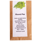 6 Degrees East Heirloom Veg Seeds - Peas - Round Pea