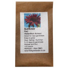 6 degrees east Herloom Flower  Seeds - Sunflower - Red Sun