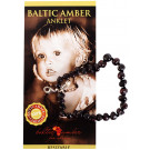 Baltic Amber for Africa Baby Anklet - Cherry