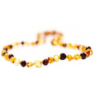 Baltic Amber for Africa Mixed Teething Necklace