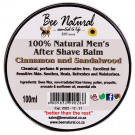 Bee Natural Men's Aftershave Balm - Cinnamon & Sandalwood