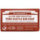 Dr. Bronner's Pure Castile Soap Bar - Eucalyptus
