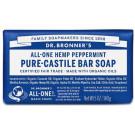 Dr. Bronner's Pure Castile Soap Bar - Peppermint