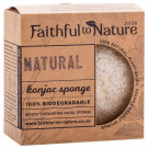 Faithful to Nature Konjac Sponge - Natural