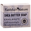 Faithful to Nature Shea Butter Soap - Exhilirate