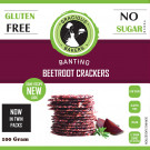 Gracious Bakers Beetroot Crackers