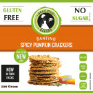 Gracious Bakers Spicy Pumpkin Crackers