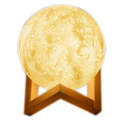 Crystal Aire 3D Moonlight Lamp