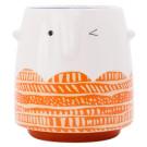 KitchenCraft Ceramic Winking Face Planter