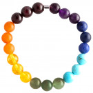 Live Light Chakra Gemstone Bracelet