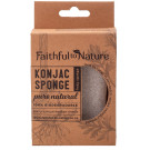 Faithful to Nature Konjac Body Sponge Natural