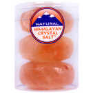 Himalayan Crystal Salt Round Massage Stones (Set of 3)