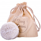 String Greens Reusable Face Rounds - Vanilla