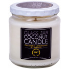 Soylites Coconut Candle - Clear Jar - Insect repellent blend