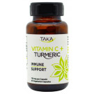 Taka Health Vitamin C & Turmeric - Immune Support