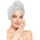 The Great Skin Co Fast Hair Drying Microfiber Cap - Grey