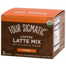 Four Sigmatic Mushroom Coffee Latte With Lion's Mane