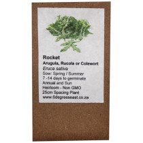 6 Degrees East Heirloom Herb Seeds - Rocket - Arugula