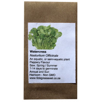 6 Degrees East Heirloom Herb Seeds - Cress - Watercress