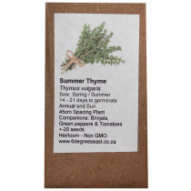 6 Degrees East Heirloom Herb Seeds - Thyme - Summer Thyme