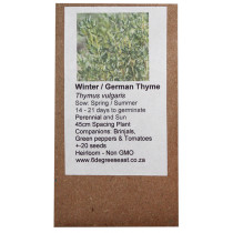 6 Degrees East Heirloom Herb Seeds - Thyme - Winter Thyme