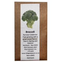 6 Degrees East Heirloom Veg Seeds - Broccoli - Ramoso Calabrese