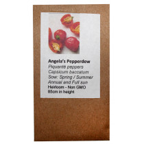 6 Degrees East Heirloom Veg Seeds - Pepper - Angela's Pepperdew