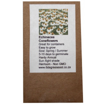 6 Degrees East Heirloom Flower Seeds - Echineacea - White