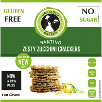 Gracious Bakers Zesty Zucchini Crackers