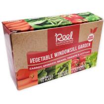 Reel Gardening Vegetable Windowsill