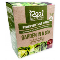 Reel Gardening Winter Vegetable Garden in a Box