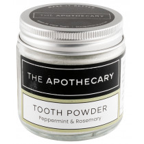 The Apothecary Tooth Powder - Peppermint & Rosemary