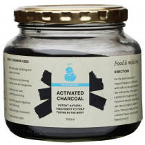 The Cultured Whey Activated Charcoal 100g